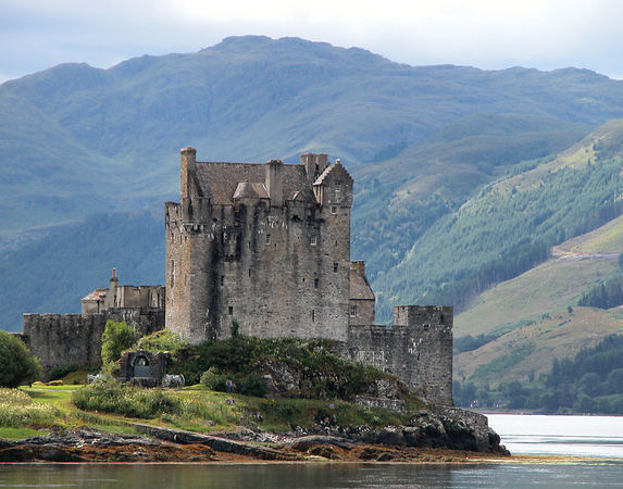 Eilean Doran Castle.  Most photographed castle in Scotland.