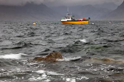 Fishing boat in Elgol