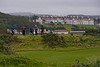 Golfers wating to tee off on the Ailsa course at Turnberry.