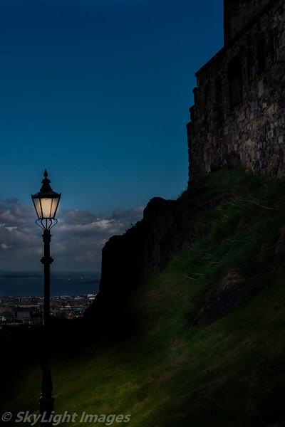 The Light of Edinburgh Castle