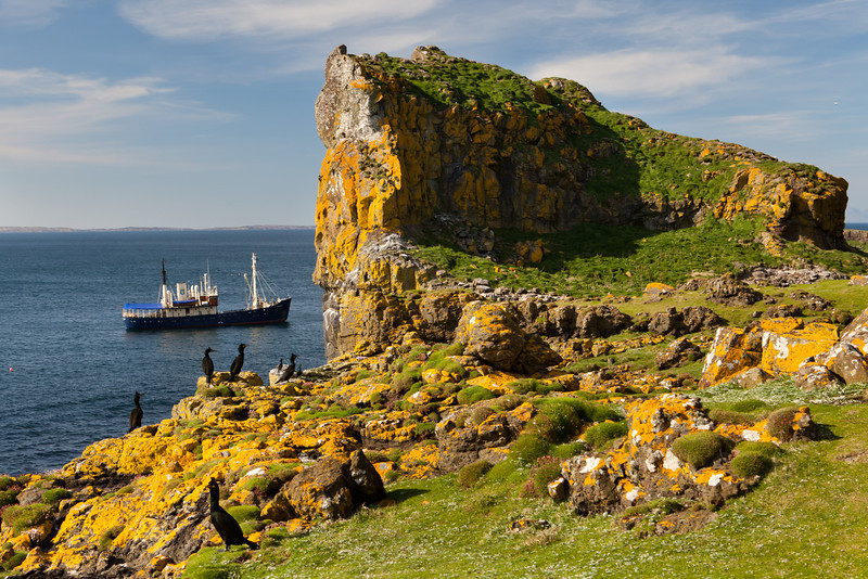 Lunga, Treshnish Islands, Scotland