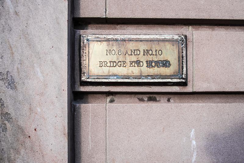 No.10 Bridge End House