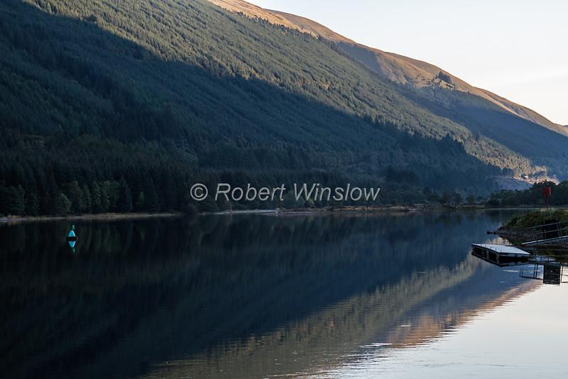 Ceann Loch, Caledonian Canal; Great Glen Way; Scottish Highlands, Scotland; United Kingdom, Europe