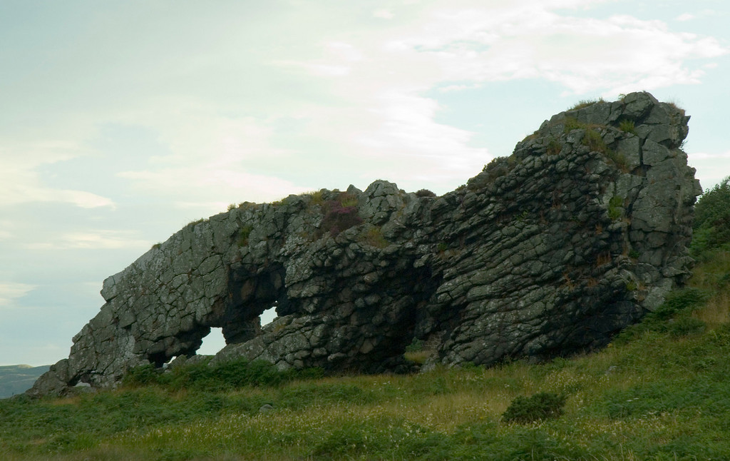 """The Lion"", near Millport, Scotland"