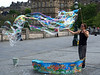 biga** bubbles on top of the Scottish National Gallery