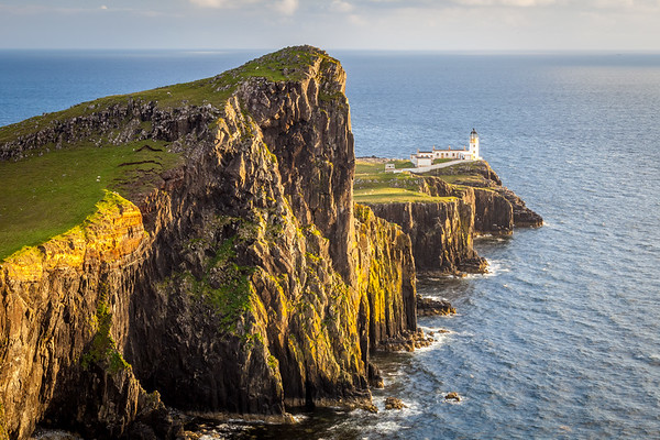 Lighthouse at Neist Point, Isle Of Skye, Scotland, UK, 2011