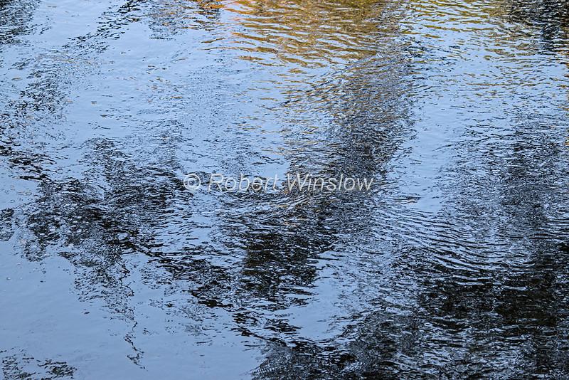 Reflecton, River Garry, Caledonian Canal; Great Glen Way; Scottish Highlands, Scotland; United Kingdom, Europe