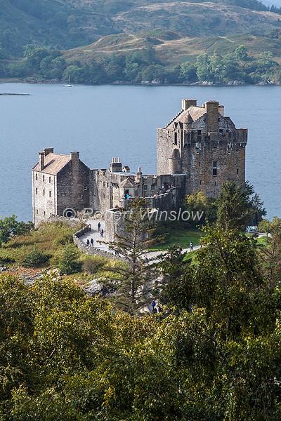 Eilean Donan Castle, Scottish Highlands, Scotland; United Kingdom, Europe