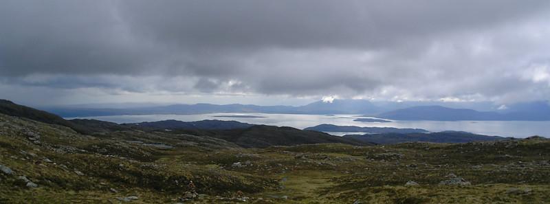 Scotland towards Skye