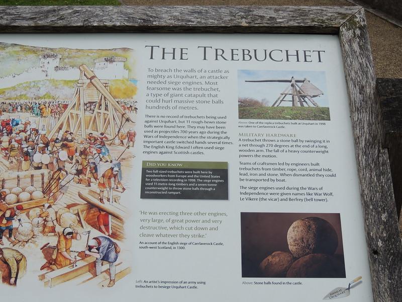 Castle Urquhart Trebucket (catapult)