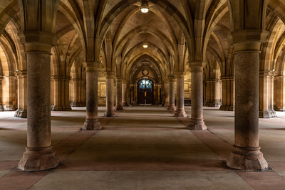 Glasgow University - The Cloisters