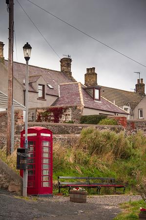 St. Abbs village