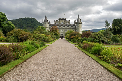 Inveraray Castle -  home of Duke of Argyll, chief of Clan Campbell