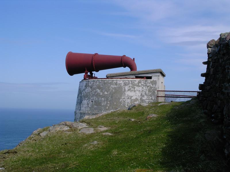 Cape Wrath Lighthouse foghorn 2005