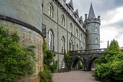 Front of Inveraray Castle