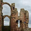 Ruins of Lindisfarne Priory on Holy Island