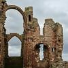Ruins of Lindisfarne Priory on Holy Island