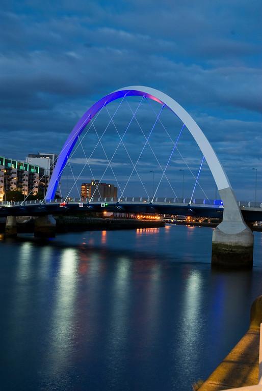 Clyde Arc (Finnieston Bridge), Glasgow