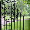 Cawdor Castle - wrought iron gate