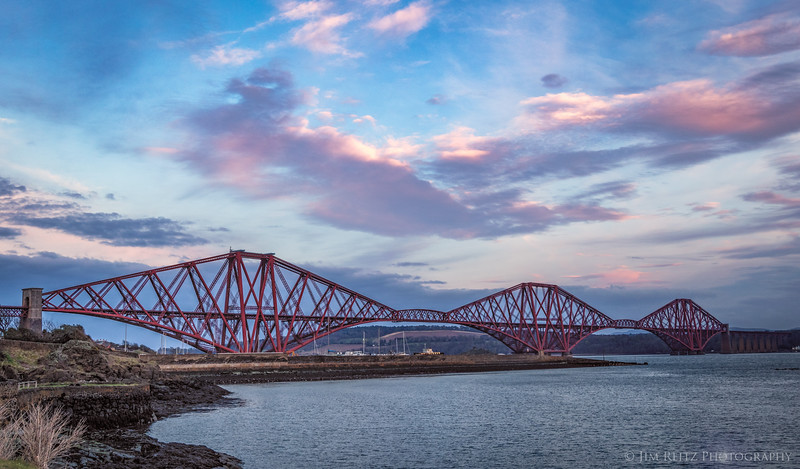 """The Forth Bridge - aka """"Forth Railway Bridge"""" - is one of the amazing high points of 19th-century engineering. Opened in 1890(!), this is still one of the world's longest cantilever bridges. Although designated a UNESCO World Heritage Site in 2015 - it's still fully-functional and carries over 200 trains every day"""