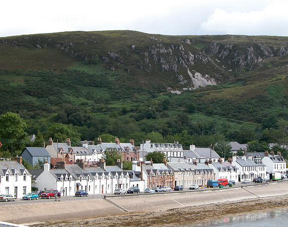 Coastal town of Scrabster.  One of the departure points for the ferries to the outter islands
