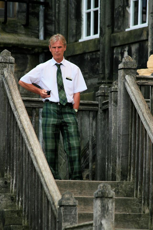 Scottish fashion :)