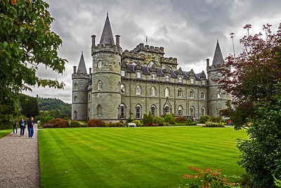 Inveraray Castle, dating to 1743