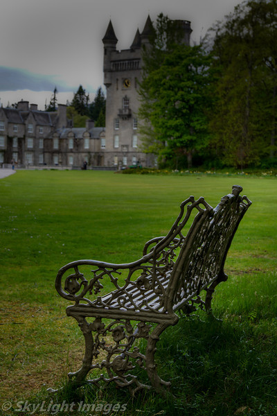 The Queens Bench at Balmoral Castle