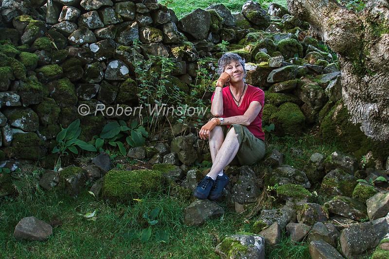 MR, Marilyn at Fairy Glen, Near Uig, Isle of Skye, Inner Hebrides, Scotland, United Kingdom, Europe