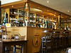 The bar @ Ballygrant. > 700 single malts on those shelves. (5-6 rows deep)