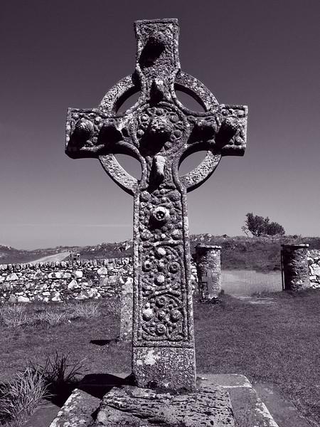Islay - The Kildalten Cross, circa 700 AD