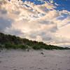 Bamburgh Castle beach area