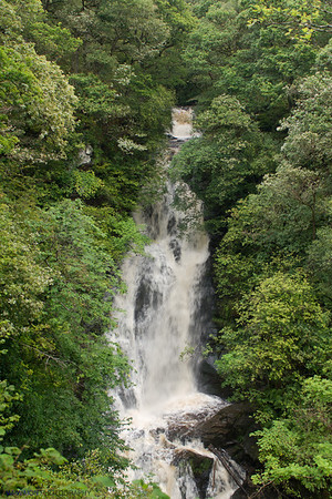 The Black Spout. Pitlochry. Scotland.