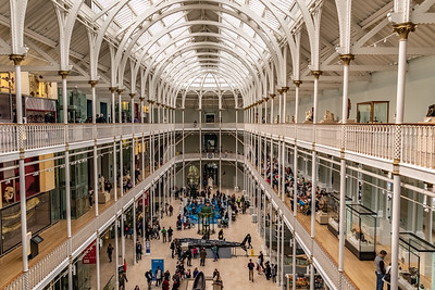 National Museum of Scotland in Edinburgh.