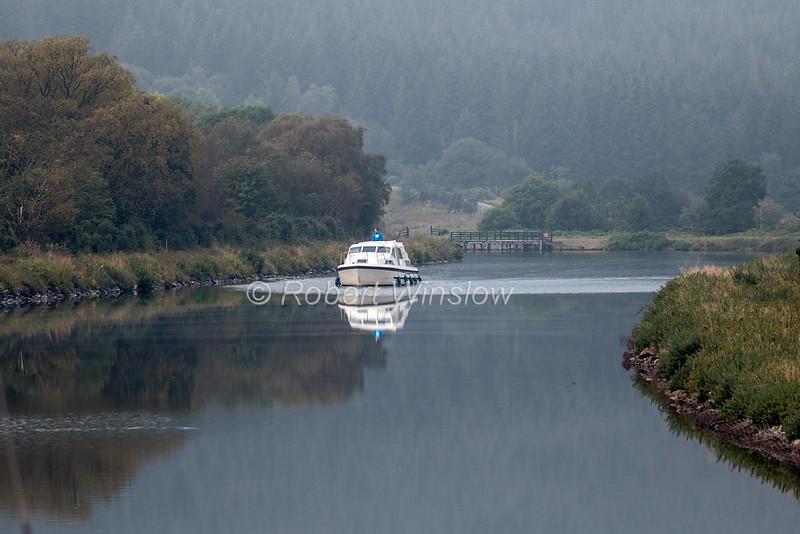 Gairlochy to Banavie, Caledonian Canal; Great Glen Way; Scottish Highlands, Scotland; United Kingdom, Europe