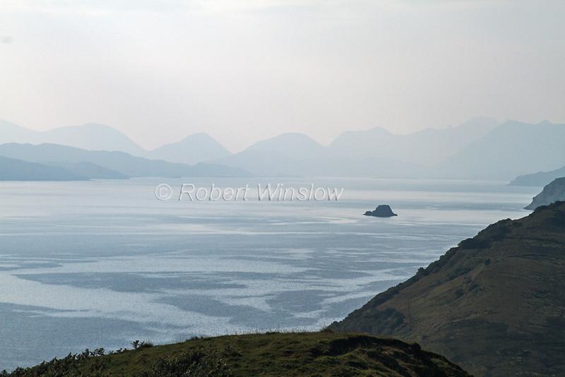 Sound of Raasay, From the Isle of Skye, Inner Hebrides, Scotland, United Kingdom, Europe