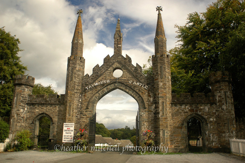 Taymouth Castle Kenmore Gate