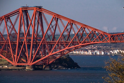 1890 Railroad bridge over the Firth of Forth.