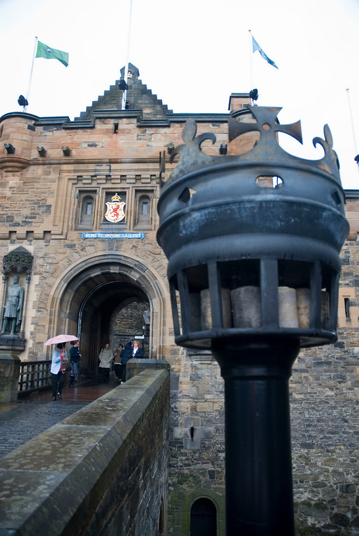 Entrance, Edinburgh Castle