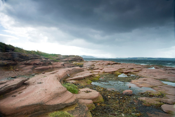 Storm over Great Cumbrae, Firth of Clyde.