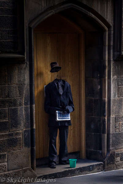 Edinburgh Invisible Man