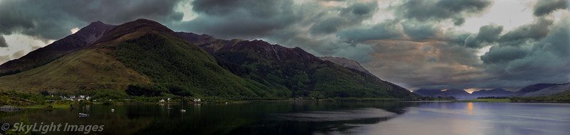 Sunset at Isles of Glencoe, Ballachulish