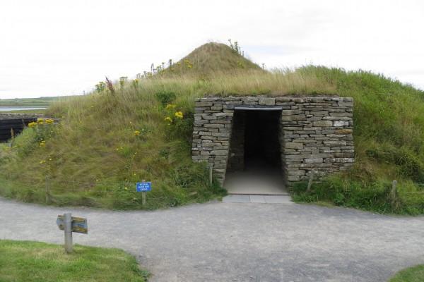 Entrance to Skara Brae