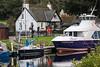 Dochgarroch, Great Glen, Caledonain Canal, Scottish Highlands, Scotland, United Kingdom, Europe