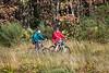 Bicyclers, Caledonian Canal; Great Glen Way, Scottish Highlands, Scotland, United Kingdom, Europe