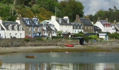 Harbour Street, Plockton, UK