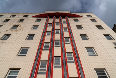 The Beresford at 460 Sauchiehall Street, Glasgow, Scotland, architected by  William Beresford Inglis (1938)