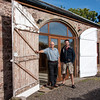 Al and David outside the Coach House. An excellent visit with our generous hosts.