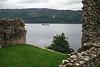 Ros Crana Barge, Urquhart Castle, Loch Ness, Scottish Highlands, Scotland, United Kingdom, Europe
