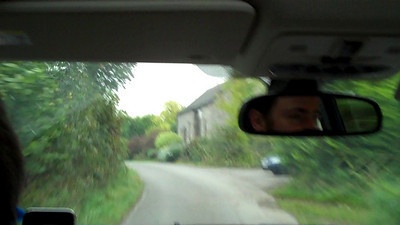 Driving in the countryside